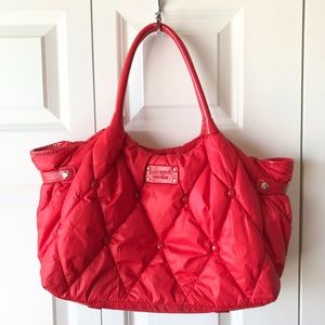 Kate Spade Red Quilted Purse